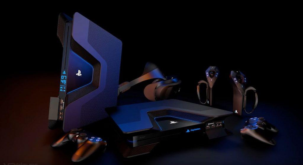 PS5 Design - V4-Konzept