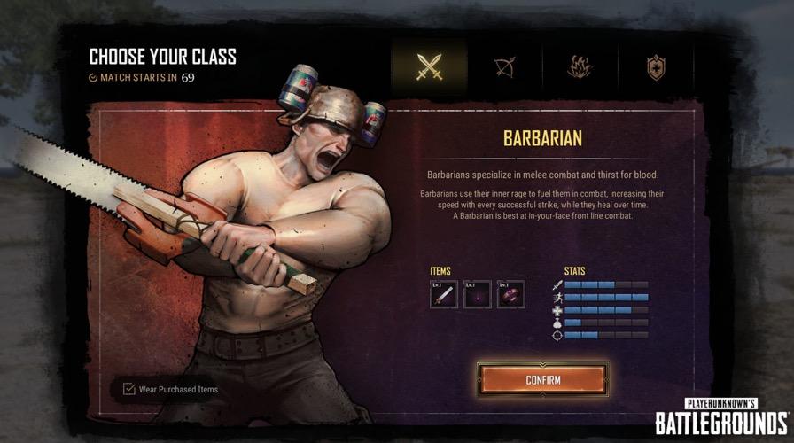 Barbar PUBG