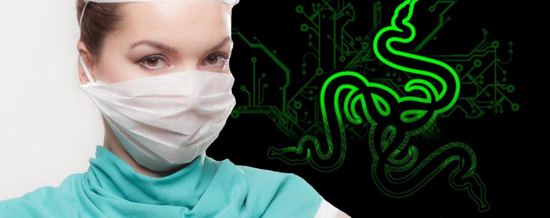 Razer-Gear für Krankenhäuser – So hilft der Gaming-Gigant bei Corona