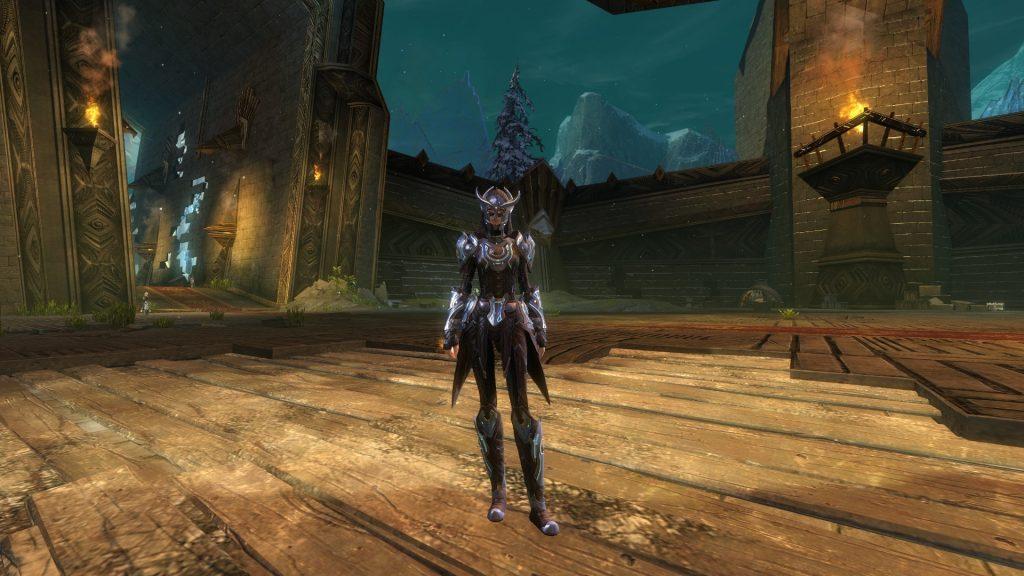 GW2 Runen-Rüstung mittel weiblich