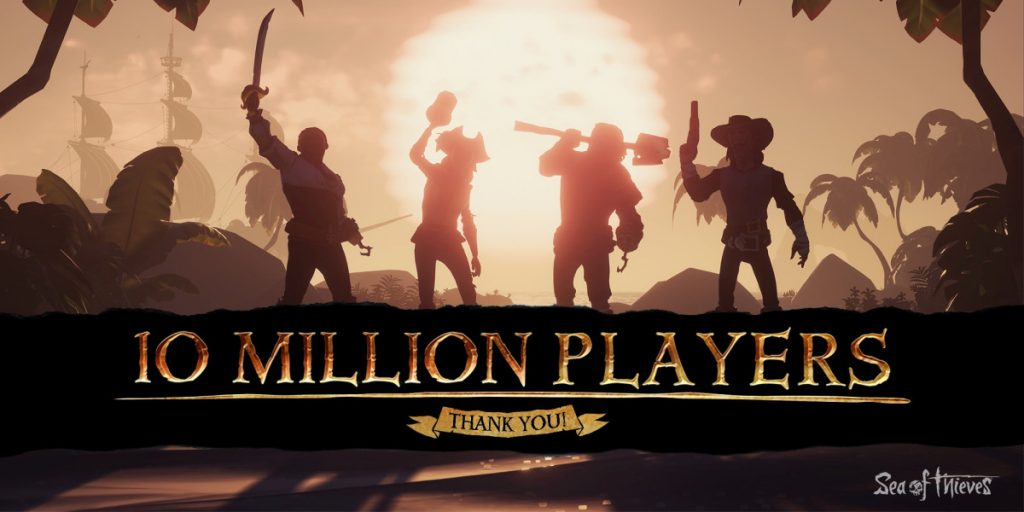 Sea of Thieves 10 Millionen Spieler