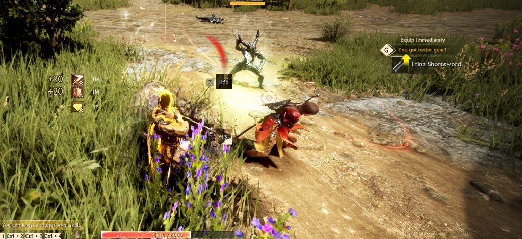 Shadow Arena Screenshot Ausrüstung