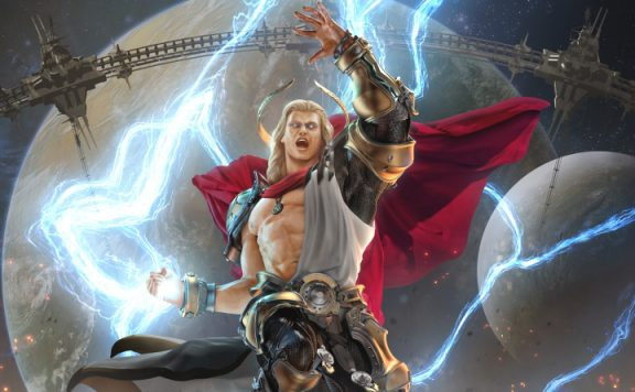 Skyforge God Artwork