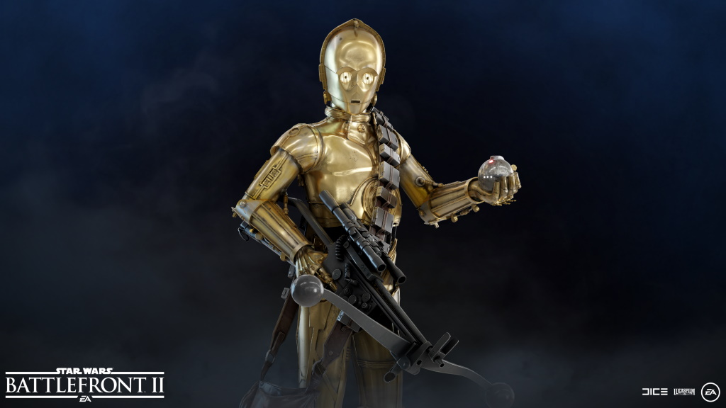 Star Wars Battlefront 2 C-3PO