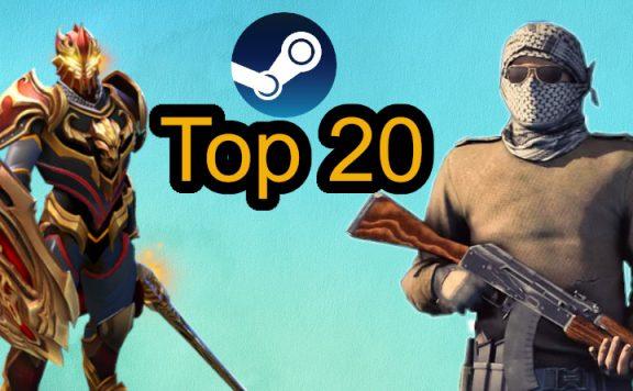 Steam Top 20 März 2020