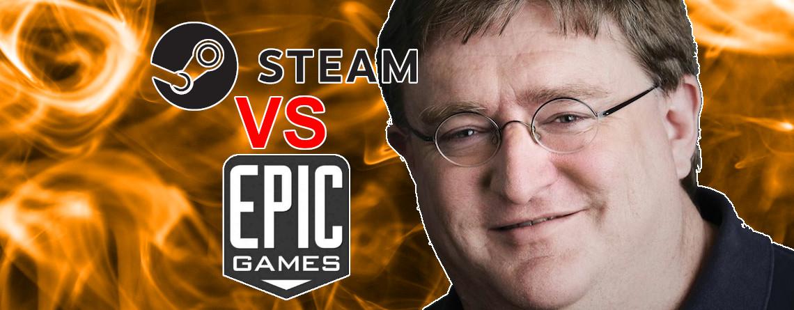 """Steam-Chef über den Epic-Store: 1. Reaktion war """"Argh, sie lassen uns schlecht aussehen"""""""