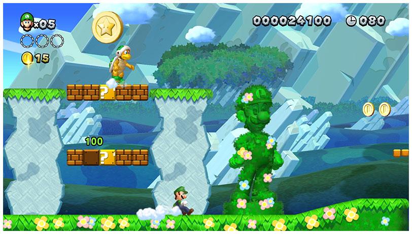 Super Mario Bros. U Deluxe Screenshot