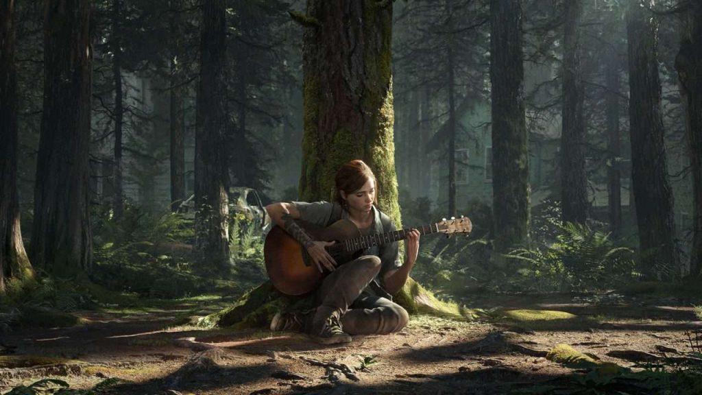 The Last of Us 2 Screenshot Gitarre