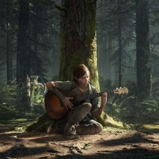 The Last of Us 2 Screenshot Gitarre