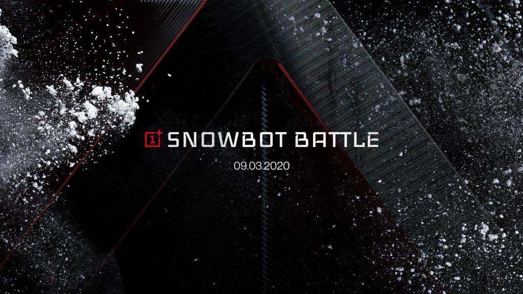 The OnePlus Snowbot Battle