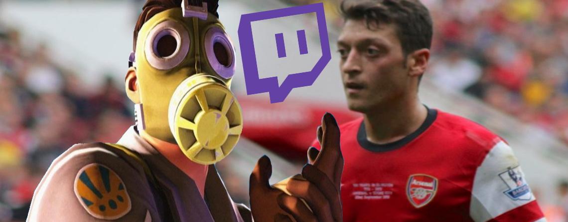 Fußball-Star Özil spielt jetzt Fortnite auf Twitch statt Fußball – wegen Corona