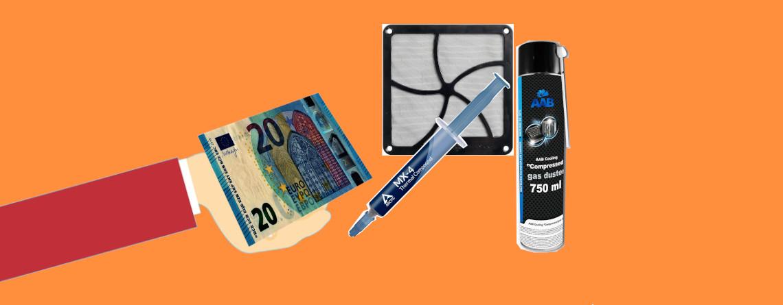 5 Dinge für unter 20 Euro, die euren PC schneller und stabiler machen