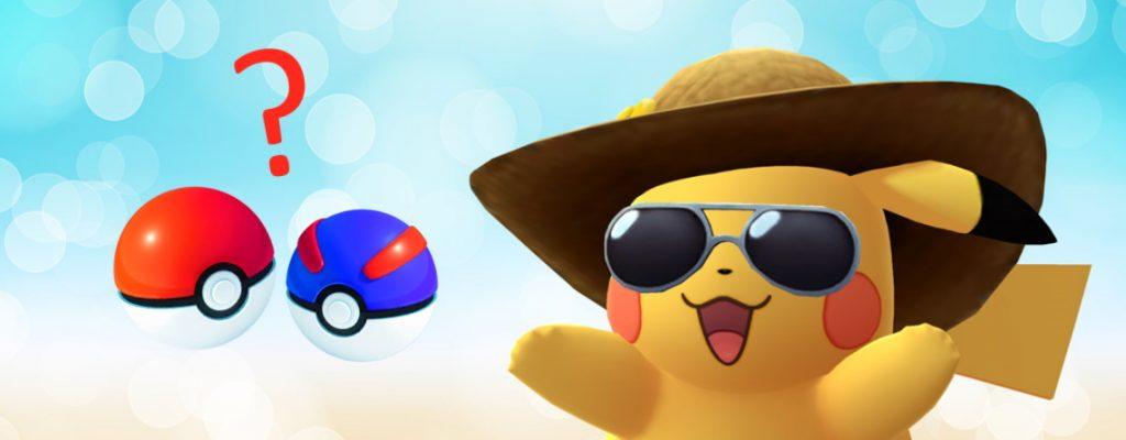 Pokemon GO Bälle Pikachu