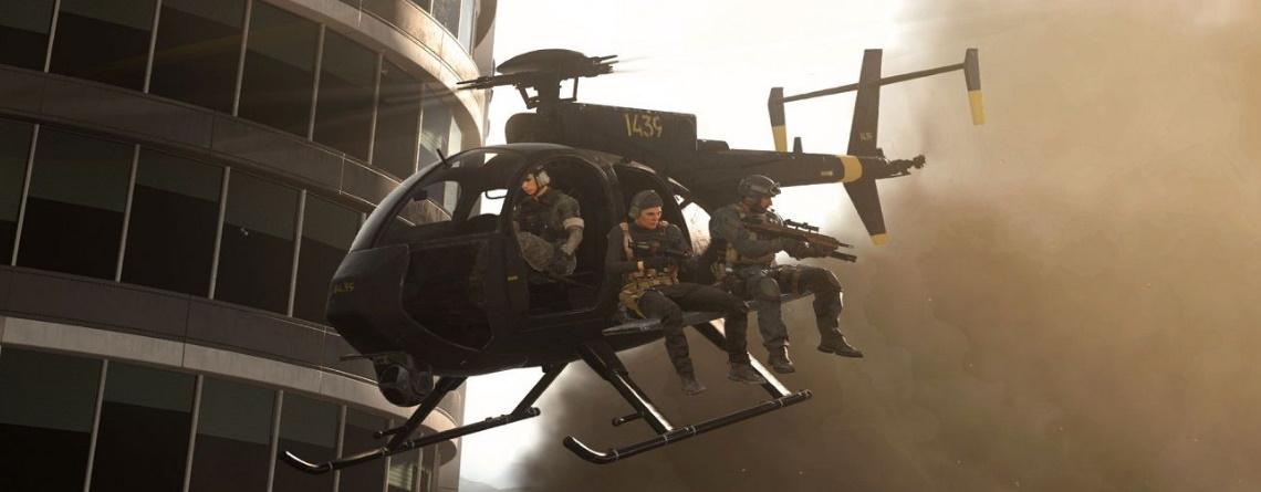 Genie gewinnt Runde in CoD Warzone, indem er Helikopter auf Gegner fallen lässt
