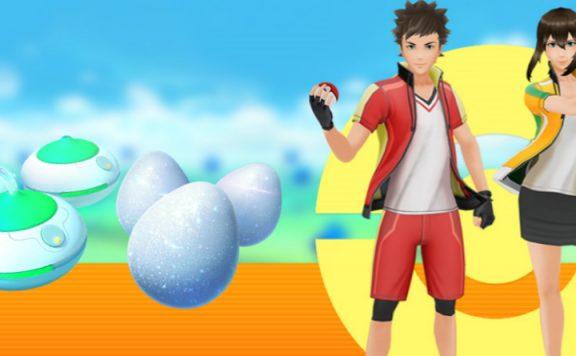 Pokemon GO Rauch Glücksei