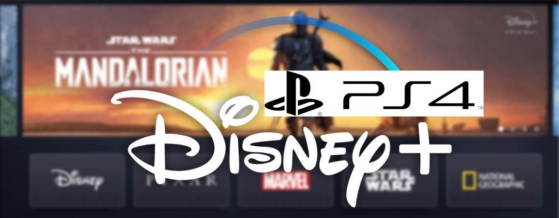Disney Plus auf der PS4 – Anmeldung und Installation