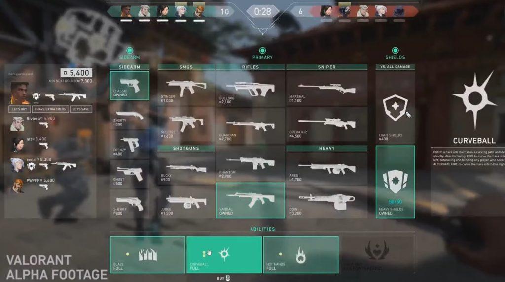 Valorant Waffen und Fertigkeiten kaufen