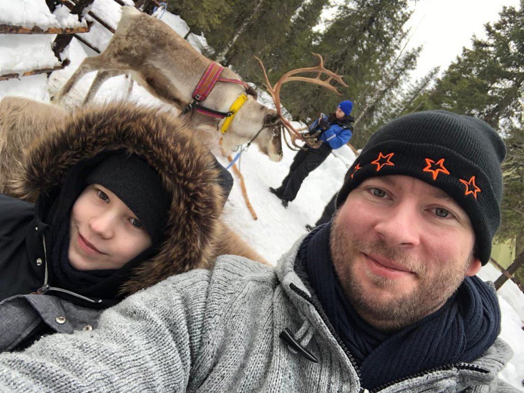 Andreas und AJ finnland