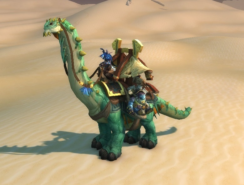 WoW Caravan Dino Auction House