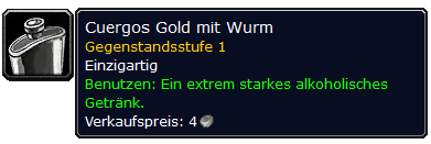 WoW Classic Cuergos Gold With Worm