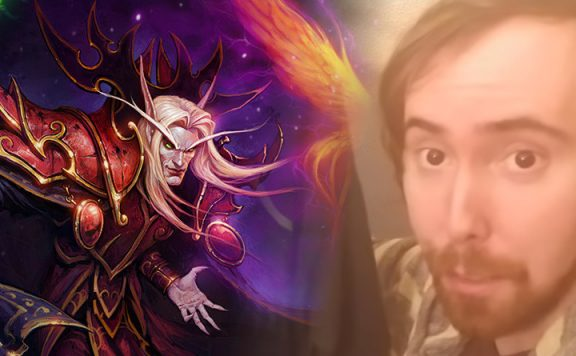 WoW Classic Kaelthas Asmongold Twitch Streamer titel 1140x445
