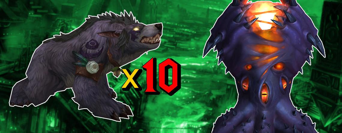 WoW: Ja, 10 Bären-Druiden haben N'Zoth wirklich auf heroisch getötet