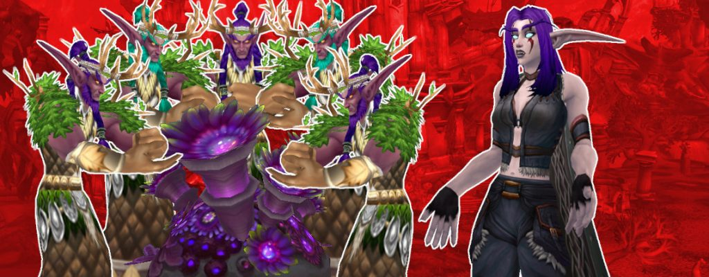 WoW Multiboxer herb druids night elf ask title 1140x445
