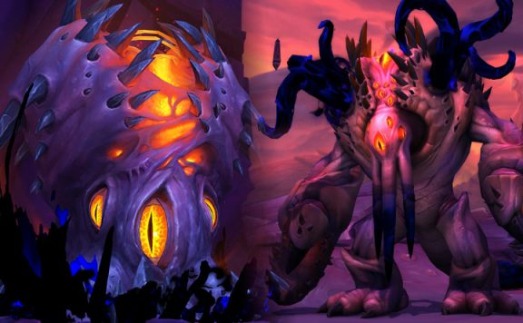 WoW NZoth Carapace title 1140x445