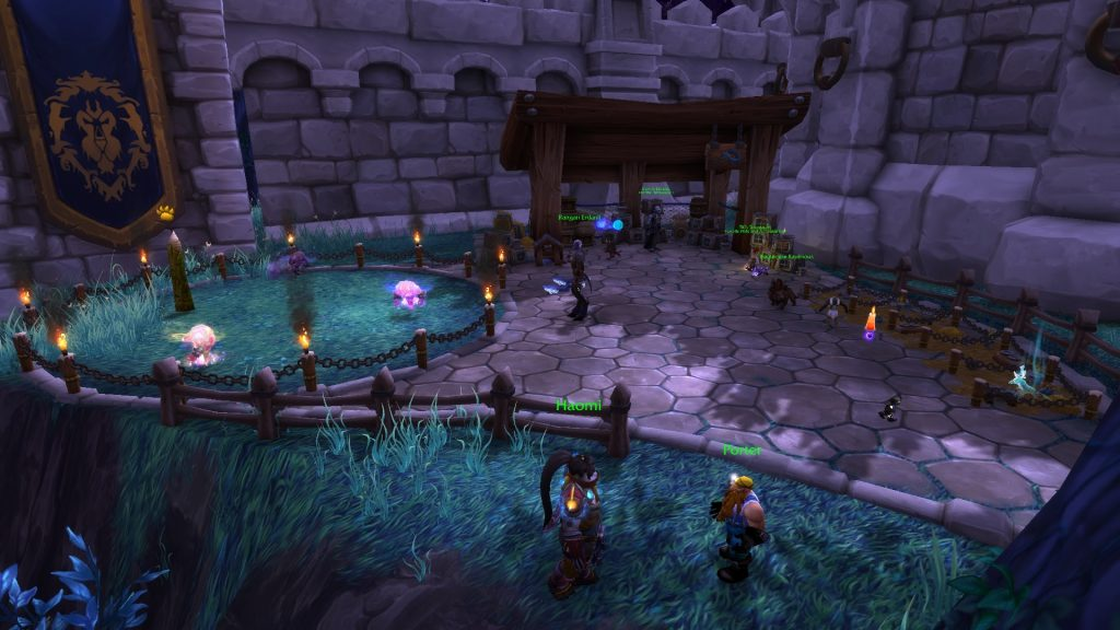 WoW Pet Guide Menagerie Location