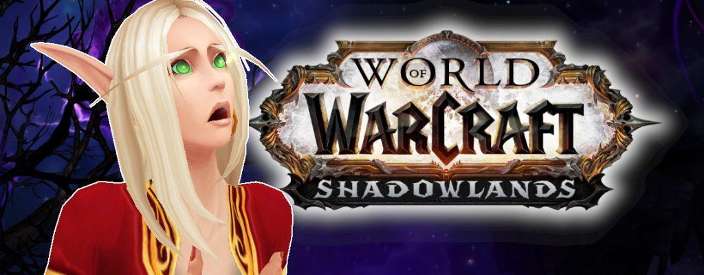 WoW Shadowlands Blood Elf shocked title 1140x445
