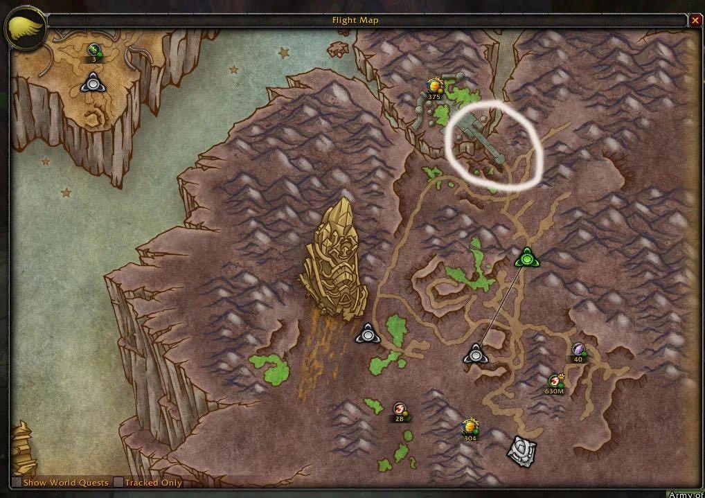 World of Warcraft Argus Penis