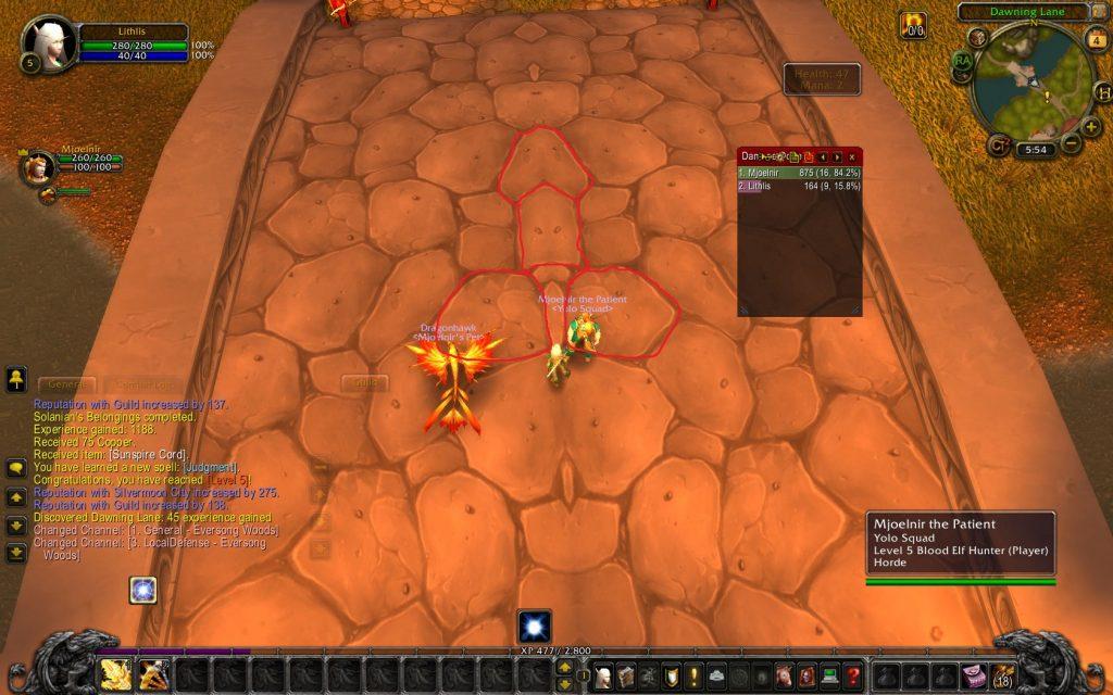 World of Warcraft Blutelf Startgebiet Penis