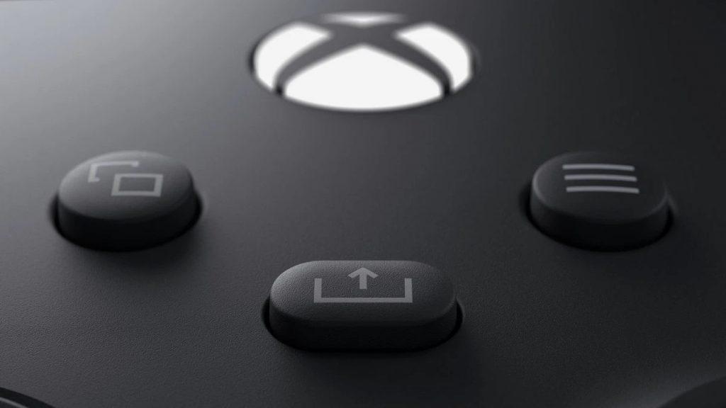 Xbox Series X Controller mit Share-Taste