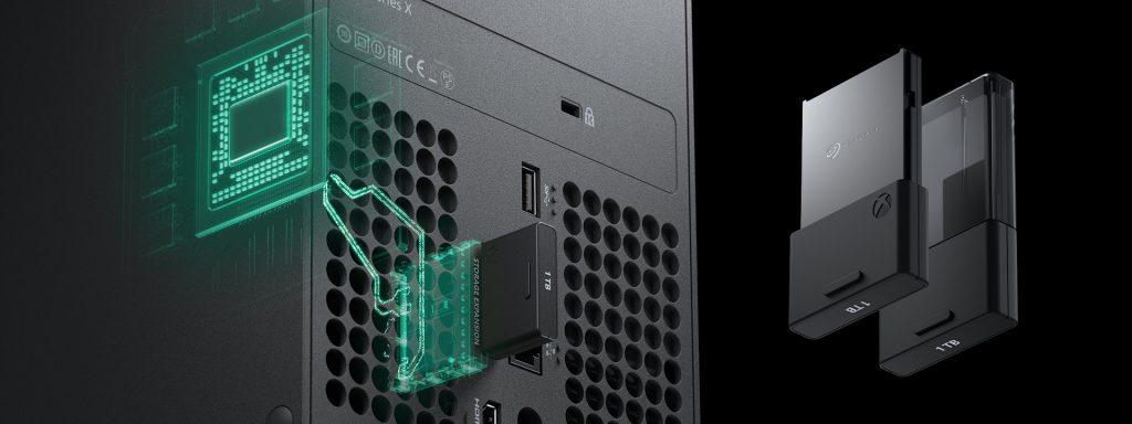 Xbox Series X - externe Speicherlösung