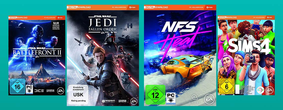 Amazon Angebote: Top-Spiele von EA im Deal deutlich günstiger