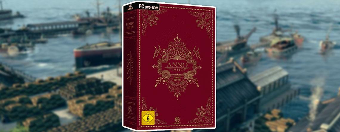Anno 1800: Besondere Fan-Edition bei MediaMarkt wieder verfügbar