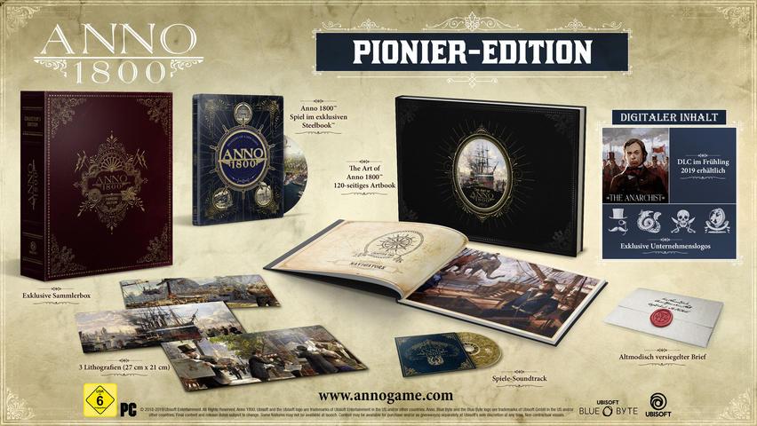 Das sind die Inhalte der Anno 1800 Collector's Edition.