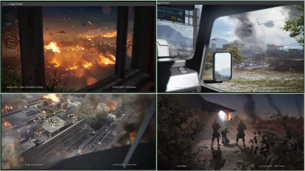 cod modern warfare battel royale warzone ingame hinweise spec ops intel bilder