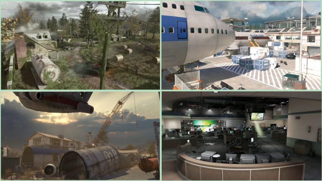 cod modern warfare warzone alte maps leak