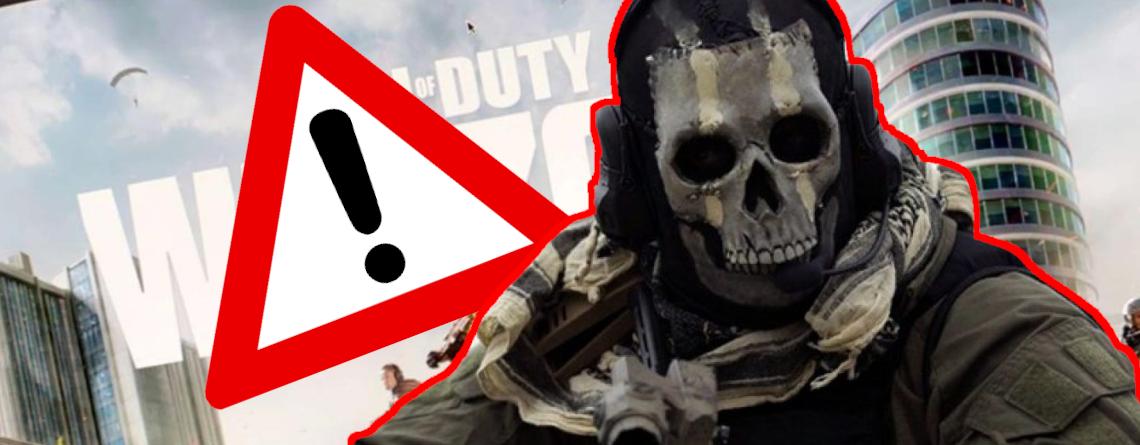 CoD Warzone bannt 70.000 Cheater, doch aus Wänden regnet's Kugeln