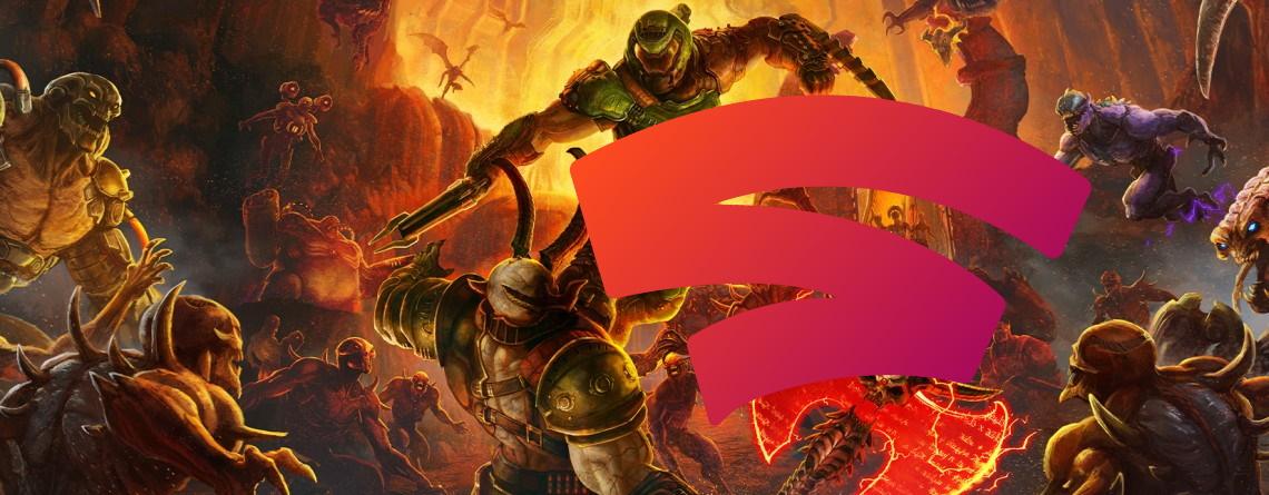 Doom Eternal und Google Stadia – Das klappt ja echt gut