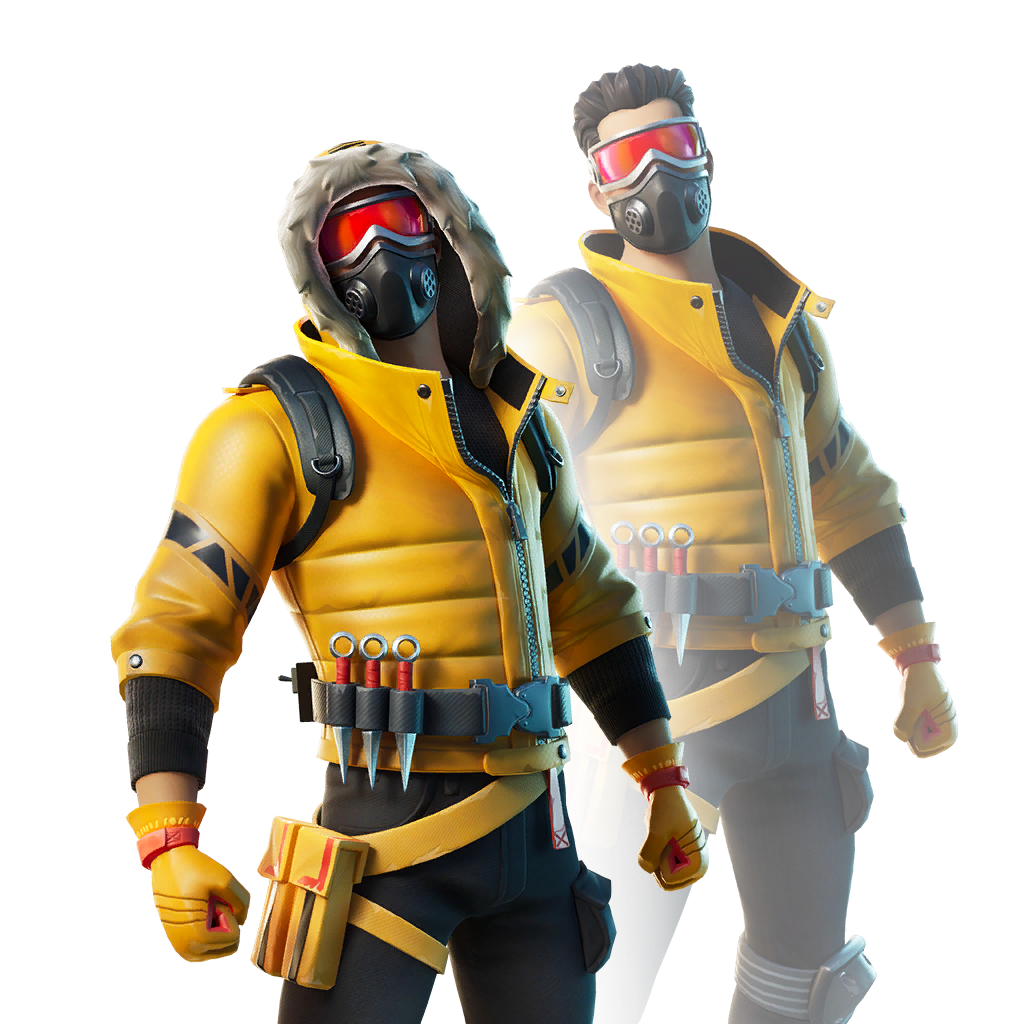 fortnite caution skin