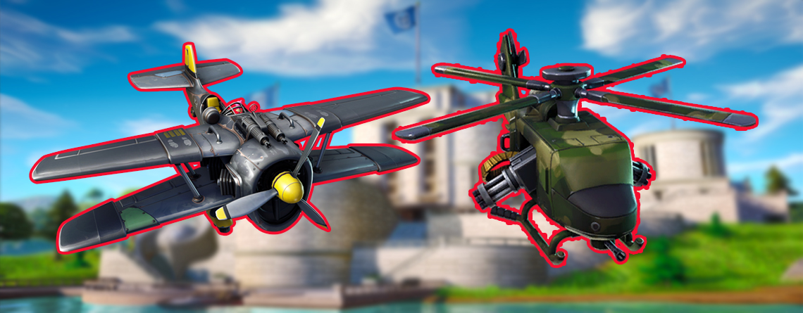 Fortnite: Erinnert ihr euch an die Flugzeuge? Helikopter könnten schlimmer werden