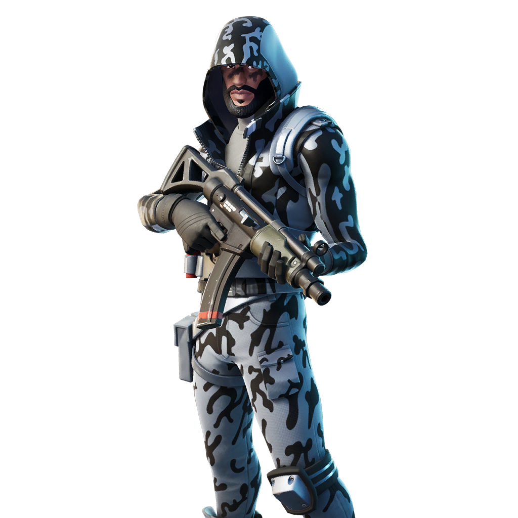 fortnite snow striker skin