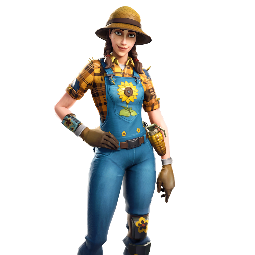 fortnite sunflower skin