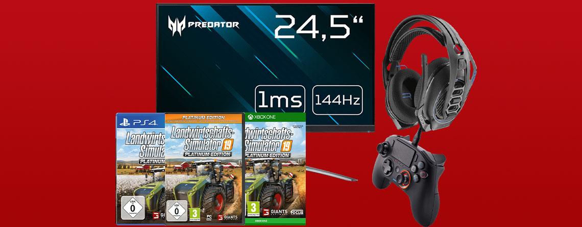 MediaMarkt Angebote: Acer Predator Gaming-Monitor zum Spitzenpreis