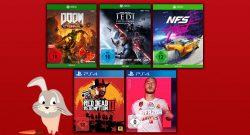 MediaMarkt Oster-Angebote: 3-für-2-Aktion für Spiele
