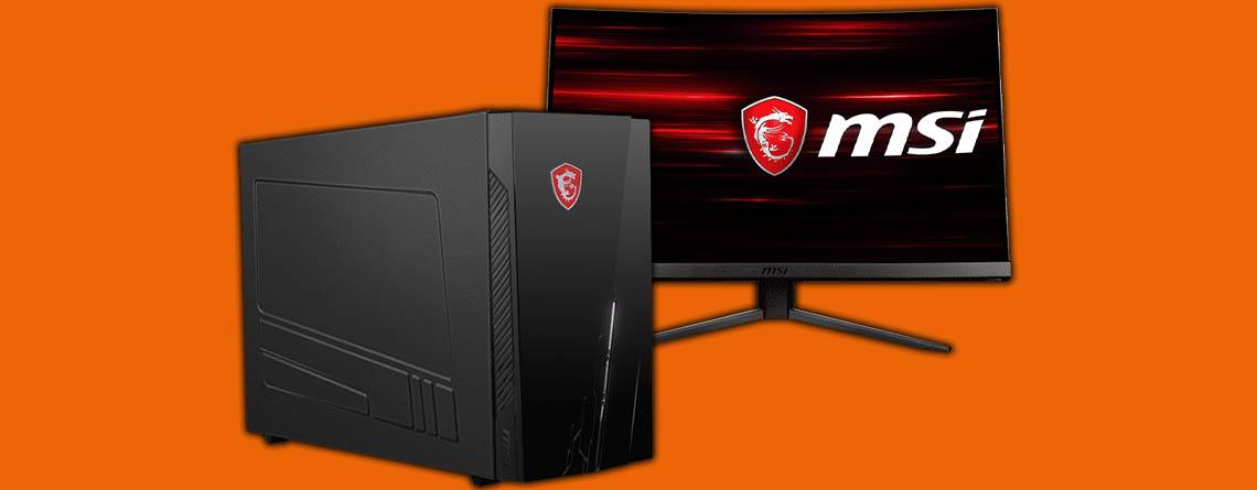 Saturn Prospekt: MSI Gaming-PC im Angebot mit Monitor zum Bestpreis