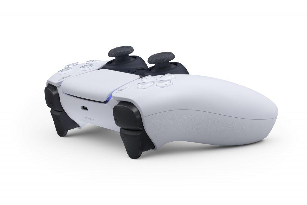 PS5 Controller Dualsense offizielles Bild schräg von hinten