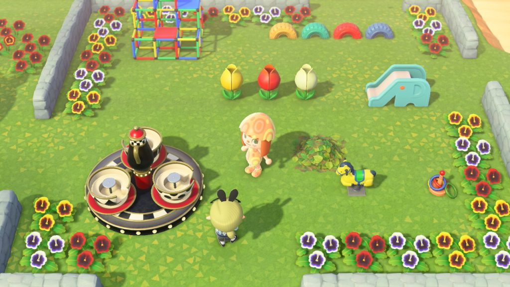 Animal Crossing Spielplatz Dekoration